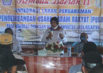Dokumentasi Rembuk Daerah II, Integrasi Lahan Pengharaman PUGAR di Kabupaten Pohuwato. (Foto : Humas)