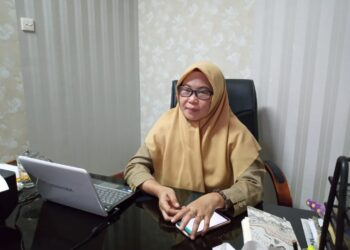Dinas Peternakan dan Kesehatan Hewan Gorontalo Utara, Sih Rumanti Sukaedi. (Foto: fajar)