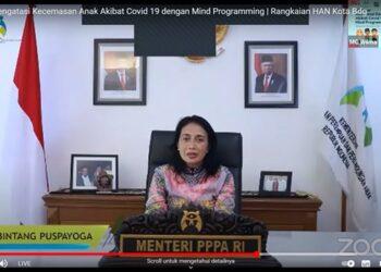 Menteri Pemberdayaan Perempuan dan Perlindungan Anak (Kemen PPPA), Bintang Puspayoga. (Foto : Infopublik)