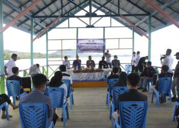 Plt Bupati Boalemo membuka kegiatan pengkaderan Anggota Fosmat angkatan 12. (Foto : Istimewa)