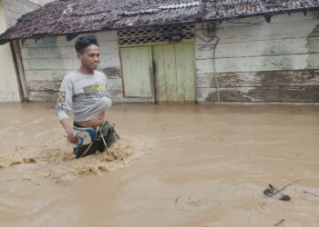Kondisi salah satu lokasi banjir