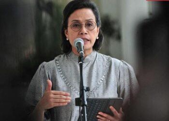 Menteri Keuangan Sri Mulyani menyebut bahwa sampai awal Juli 2021 perekonomian Indonesia membaik, meski beresiko karena Covid-19. ANTARA FOTO