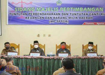 Dokumanteasi sidang MP-TGR oleh Pemkab Boalemo. (Foto : Istimewa)