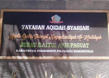 Ilustrasi Yayasan Aqidah Syariah di Paguat. (Foto : Istimewa)