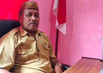 Kepala DLHK Kabupaten Boalemo, Ismet Nono. (Foto : Istimewa)