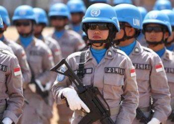 Polisi Wanita Polri dalam misi PBB. HUMAS POLRI